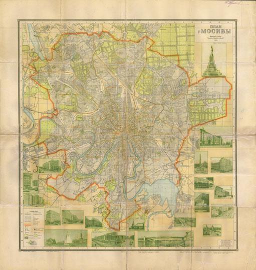 Доп. карта: Схема городского