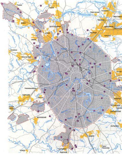 Кладбища москвы на карте москвы памятники в минске кабушкина