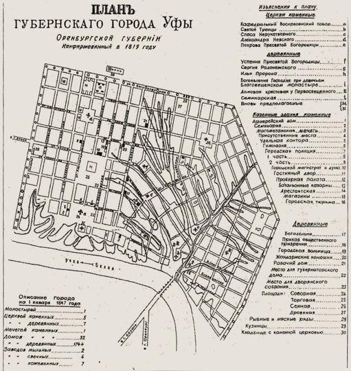 Карта Г Уфы С Улицами