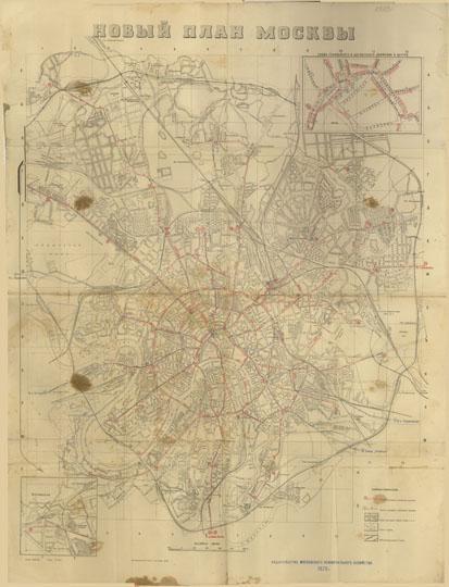 Доп. карта: Схема трамвайного