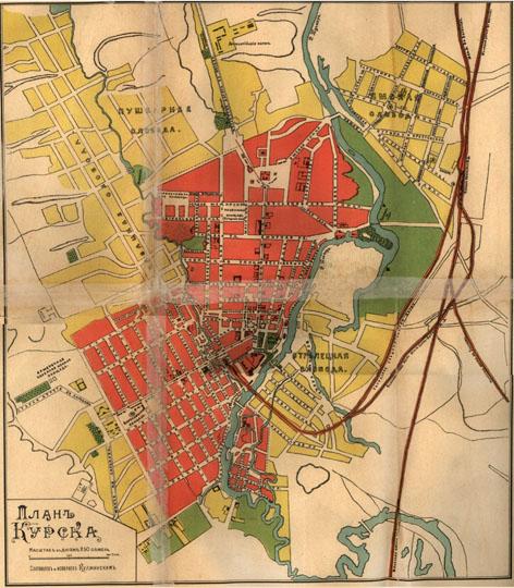Карта Курска Шуберта