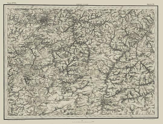 Орел и окрестности на карте