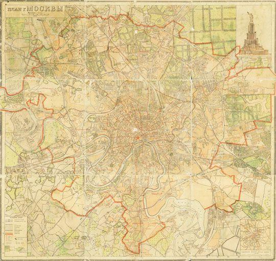 Генерального плана Москвы.