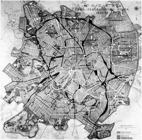 Старые карты Москвы - Москва.